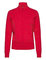 Lds Dubson windstop cardigan - RED