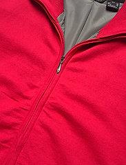 Abacus - Lds Dubson windstop cardigan - gebreid - red - 2