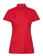 Lds Clark polo - RED