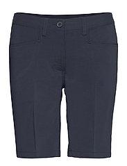 Lds Cleek stretch shorts 46cm - NAVY