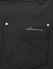Abacus - Lds Grace capri 70 cm - golfbroeken - black - 4