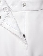 Abacus - Lds Grace capri 70 cm - golfbroeken - white - 3