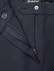 Abacus - Lds Grace high waist 7/8 trousers 92cm - golfbroeken - navy - 3