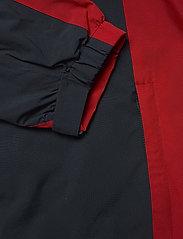 Abacus - Mens Links rainjacket - golf jackets - navy/red - 5