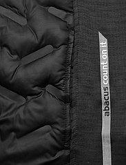 Abacus - Mens Dunes hybrid vest - golf jackets - black - 4