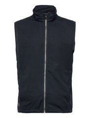 Abacus - Mens Lytham softshell vest - vestes de golf - navy - 0