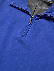 Abacus - Mens Dubson windstop pullover - truien met halve rits - dk.cobalt - 2