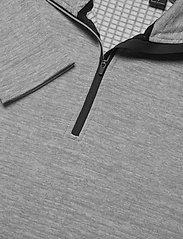 Abacus - Mens Sunningdale halfzip - golf jackets - lt.grey/black - 4