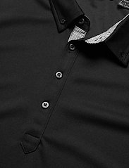 Abacus - Mens Oliver polo - polo's - black - 2