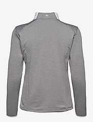 Abacus - Lds Troon hybrid 1/2 zip - fleece - lt.greymelange - 1