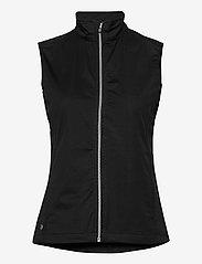 Lds Lytham softshell vest - BLACK