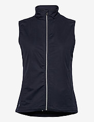Abacus - Lds Lytham softshell vest - puffer vests - navy - 0