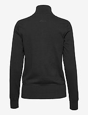Abacus - Lds Dubson windstop cardigan - cardigans - black - 1