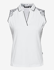 Abacus - Lds Emy sleeveless - topjes - white - 0