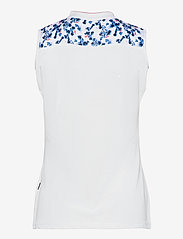 Abacus - Lds Anne sleeveless - topjes - white/bl.heaven - 1