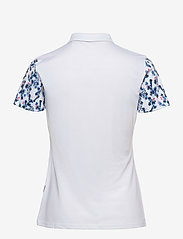 Abacus - Lds Anne polo - polo's - white/bl.heaven - 1