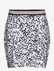 Abacus - Anne skort 45cm - jupes de sport - black/white - 0