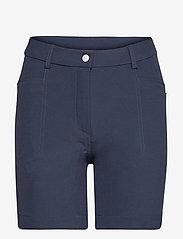 Lds Grace high waist shorts 45cm - NAVY