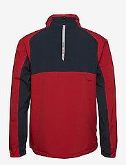 Abacus - Mens Links rainjacket - golf jackets - navy/red - 1