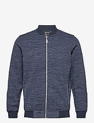 Abacus - Mens Hurst wind fleecejkt - golf jackets - navy - 0
