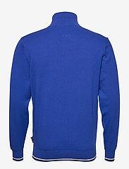 Abacus - Mens Dubson windstop pullover - truien met halve rits - dk.cobalt - 1