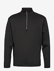 Mens Dunbar halfzip fleece - BLACK