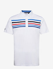 Abacus - Mens Louth polo - polo's - white/navy - 0