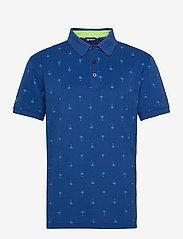 Hankley polo - ATLANTIC BLUE