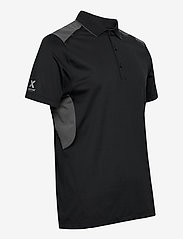 Abacus - Mens Scratch 37.5 polo - polo's - black - 2