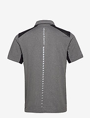 Abacus - Mens Scratch 37.5 polo - polo's - lt.greymelange - 1