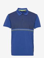 Burnham polo - ATLANTIC BLUE