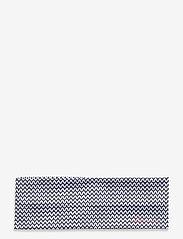 Lds Anne headband - NAVY/WHITE