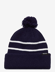 Abacus - Woodhall knitted hat - bonnet - navy - 0