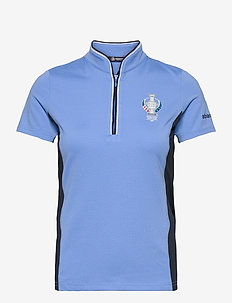Lds dimple polo - polos - cambridge blue
