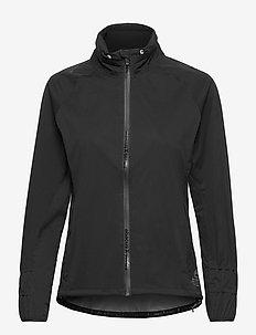 Lds Pitch 37.5 rainjacket - kurtki golfowe - black