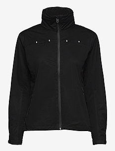 Lds Swinley rainjacket - kurtki golfowe - black