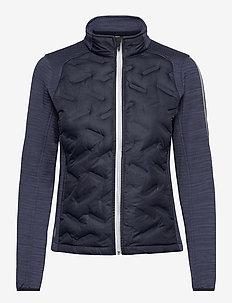 Lds Dunes hybrid jacket - golfjackor - navy