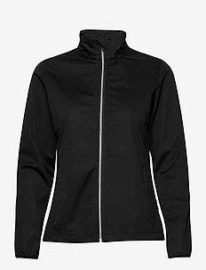 Lds Lytham softshell jacket - kurtki golfowe - black
