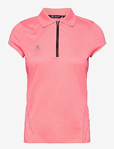 Lds Scratch 37.5 cupsleeve - polo's - coral pink