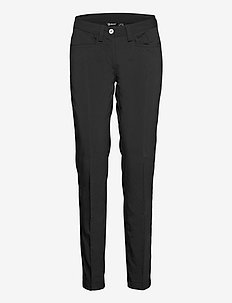 Lds Cleek stretch trousers - golfhosen - black