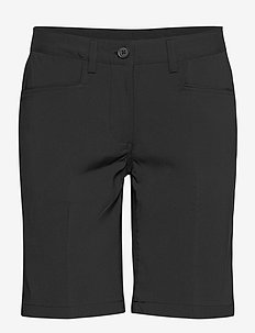 Lds Cleek stretch shorts 46cm - golfbroeken - black