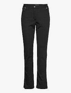 Lds Portnoo softshell trousers - golfhosen - black