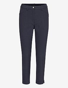 Lds Grace high waist 7/8 trousers 92cm - golfbroeken - navy