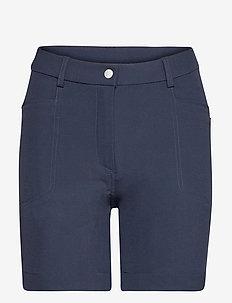 Lds Grace high waist shorts 45cm - golfbroeken - navy