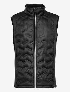 Mens Dunes hybrid vest - golf jackets - black