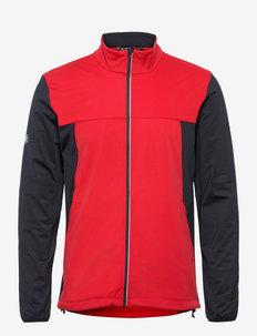 Mens Dornoch softshell hybrid  jacket - golf jassen - red
