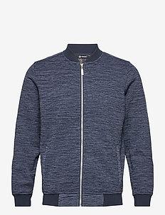 Mens Hurst wind fleecejkt - golf jackets - navy