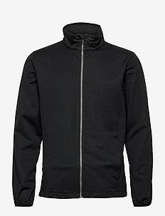 Mens Lytham softshell jacket - golf jassen - black