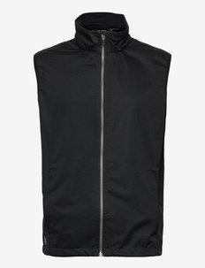 Mens Lytham softshell vest - vestes de golf - black