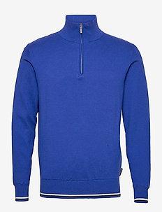 Mens Dubson windstop pullover - half zip-trøjer - dk.cobalt